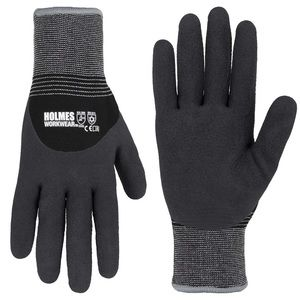 Holmes Winter Latex Work Gloves, 3-pack
